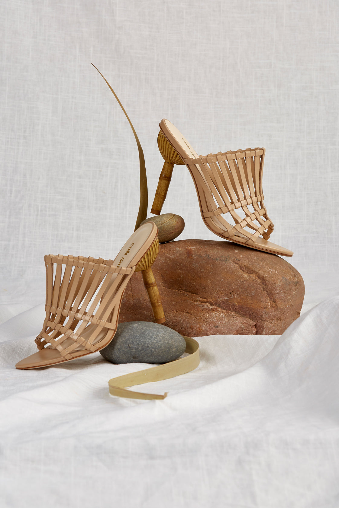 Image result for Cult Gaia Ark Leather Cage Heels