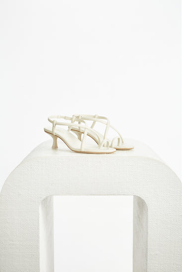 Sandee Sandal - Off White