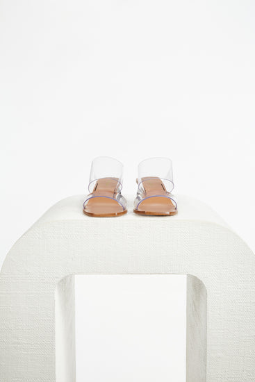 Jila Shell Sandal - Clear