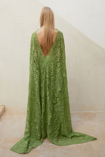 Enid Gown - Lime