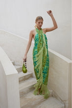 Bianca Dress - Lime Multi
