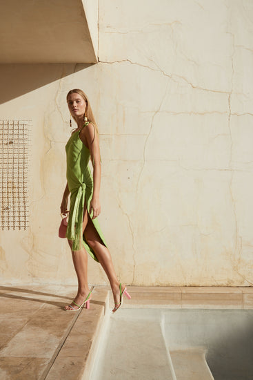 Giselle Dress - Lime (PREORDER)