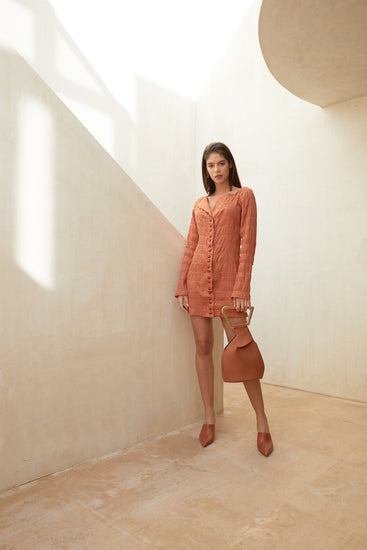 Lafina Dress - Spice