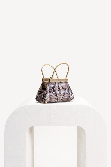 Mini Estelle Bag - Faux Snake