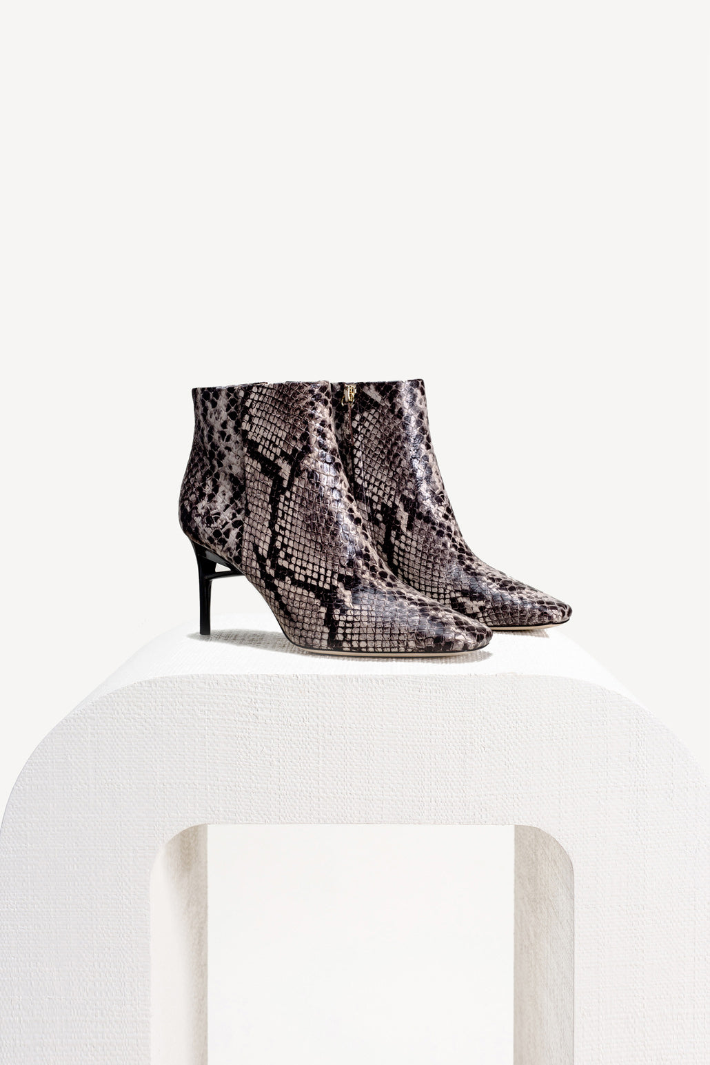 Arezoo Boot - Faux Snake
