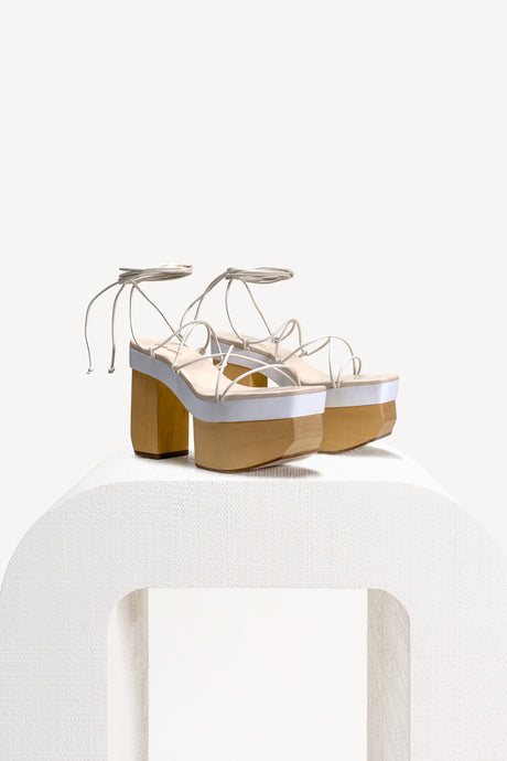 Kiki Platform - White (EXCLUSIVE)
