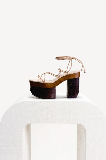 Kiki Platform - Sand Multi (EXCLUSIVE)