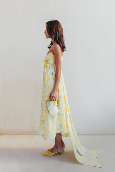 Persephone Dress - Lemonade Multi