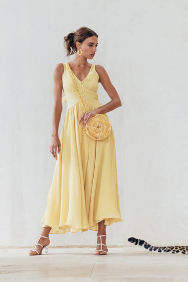 Angela Dress - Lemonade
