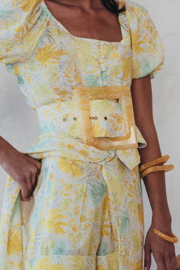 Simone Belt - Yellow Quartz