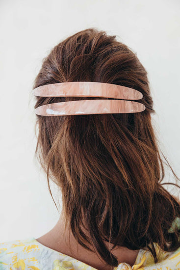 Large Barrette - Pink