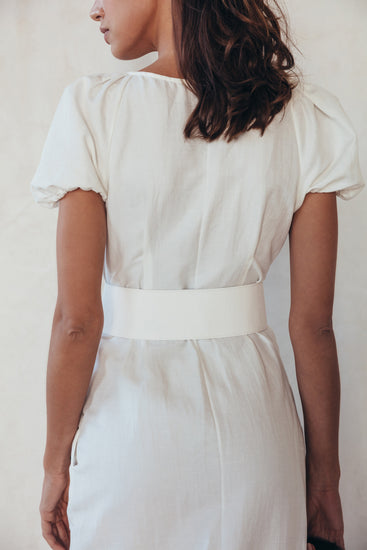Charlotte Dress - White (PREORDER)
