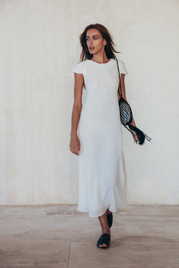 Artemisia Dress - White