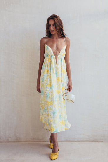 Persephone Dress - Lemonade Multi (PREORDER)