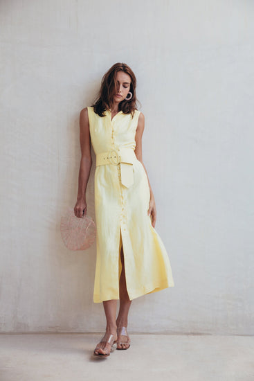 Gia House Dress - Lemonade (PREORDER)