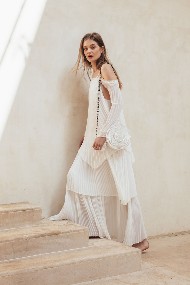 Athena Gown - Natural White – CULT GAIA
