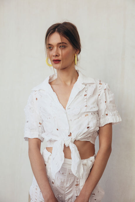 Madeline Blouse - Off White
