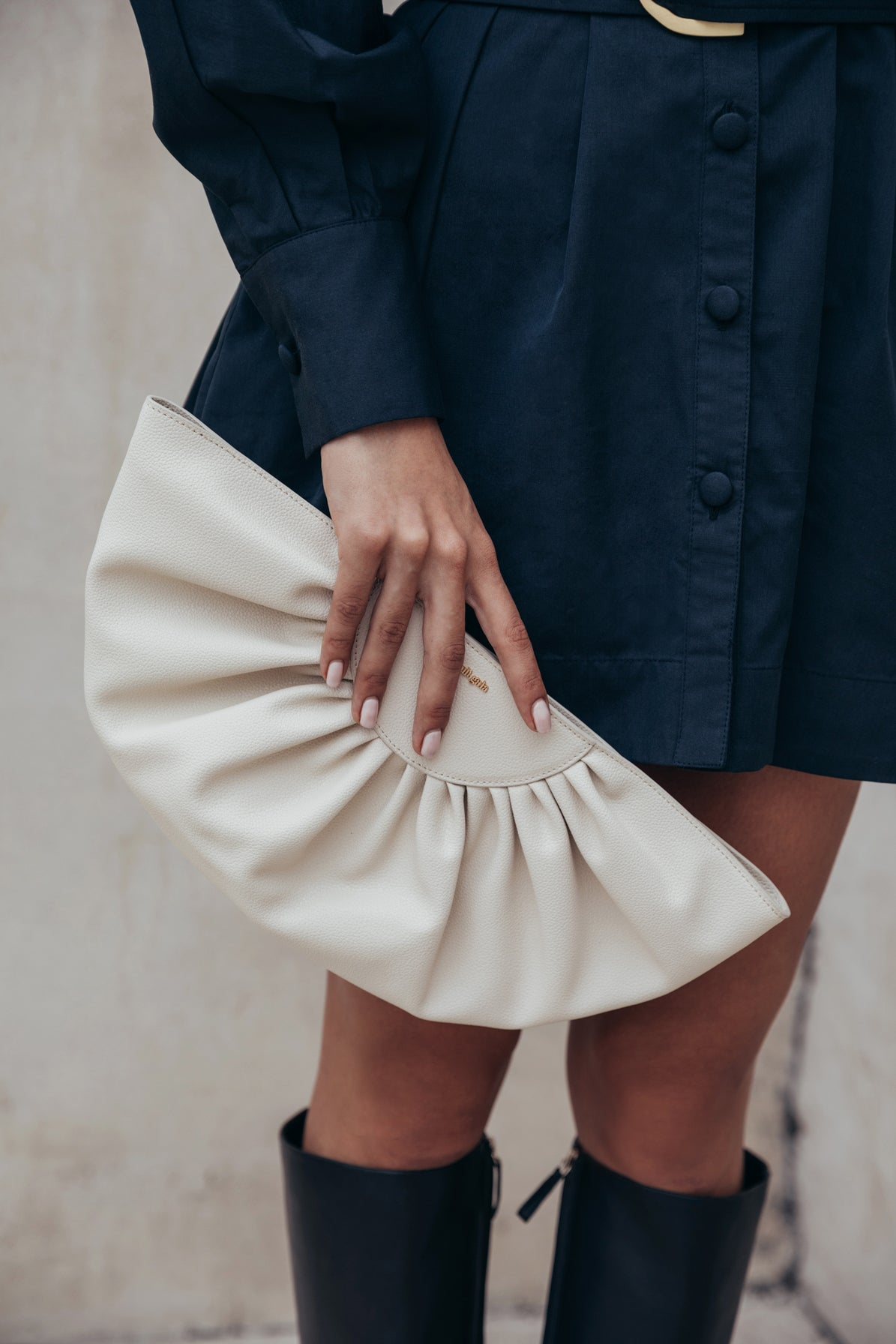 Marisol Clutch - Off White