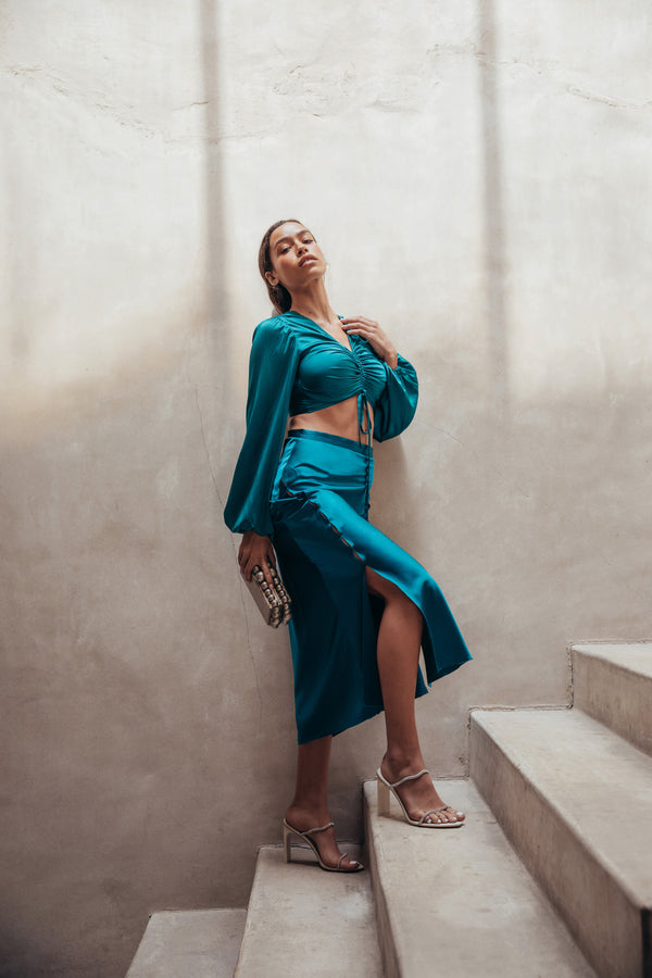 Marri Skirt - Teal (EXCLUSIVE)