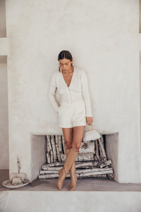 Freida Cardigan - Off White