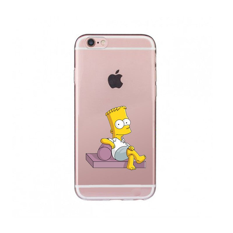 Funda iPhone Los Simpson