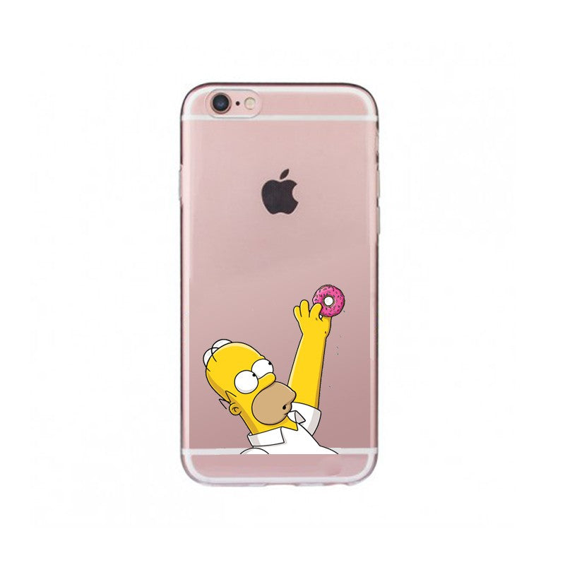 Funda iPhone Los Simpson 10