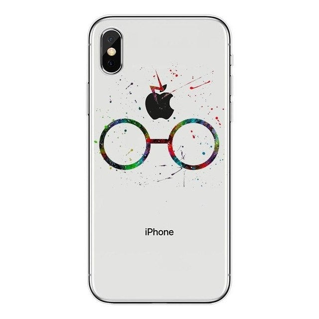 Funda iPhone Gafas Harry Potter
