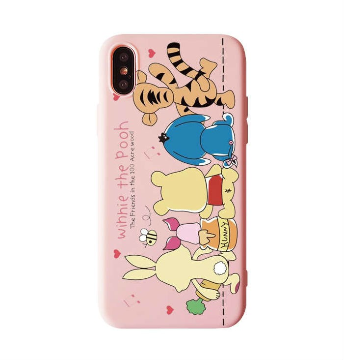 Funda iPhone Dibujos Animados Silicona 12