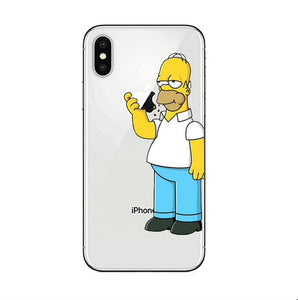 Funda iPhone Los Simpson 38