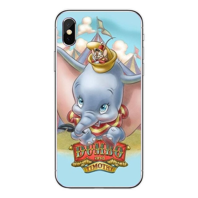 Funda iPhone Dumbo & Timothy