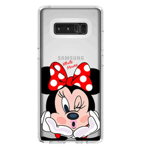 Funda Samsung Minnie Mouse Beso