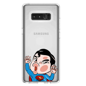 Funda Samsung Superman Cristal Estampado