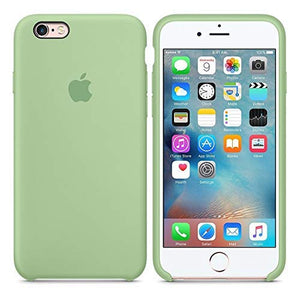 Funda iPhone Silicona Logo Verde