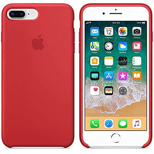 Funda iPhone Silicona Logo Roja