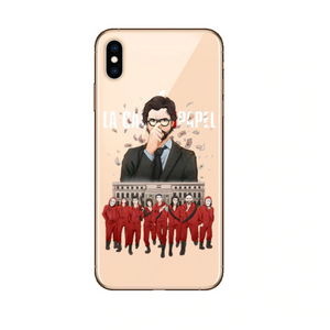 Funda iPhone La Casa de Papel 10