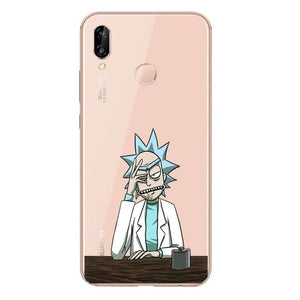Funda Huawei Rick & Morty 33