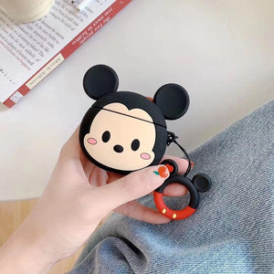 Fundas AirPods 1/2 Mickey & Minnie Silicona