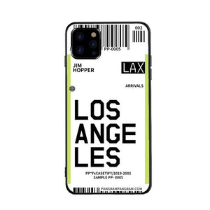Funda iPhone Billete Avion Los Angeles
