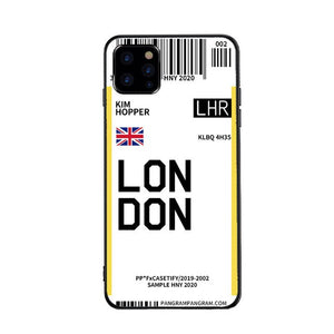 Funda iPhone Billete Avion London