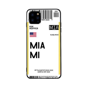 Funda iPhone Billete Avion Miami