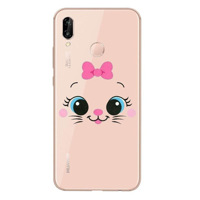 Funda Huawei Aristogatos Marie 3