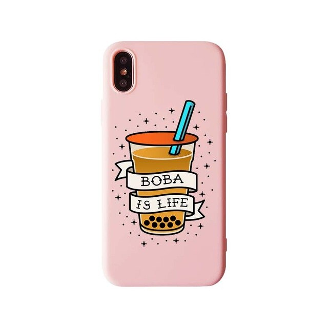 Funda iPhone Bubble Tea 4
