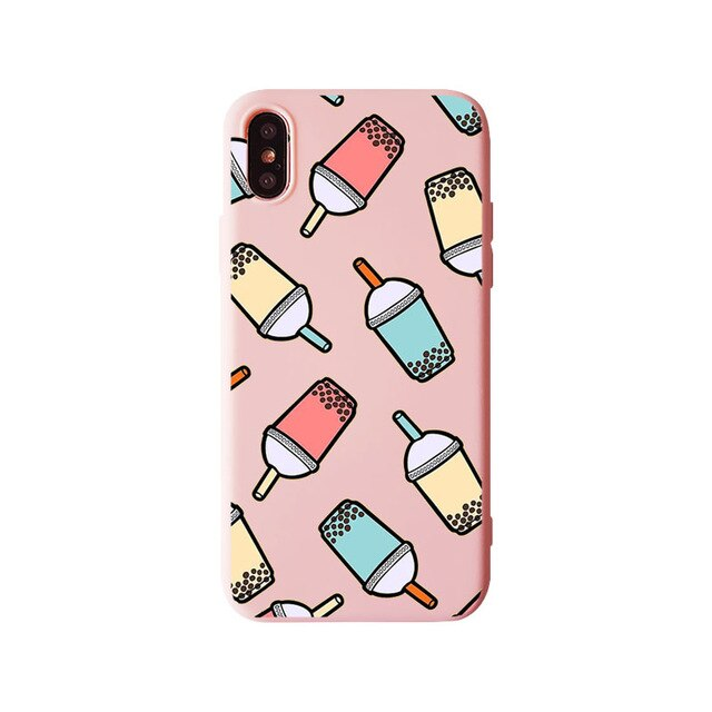 Funda iPhone Bubble Tea 8