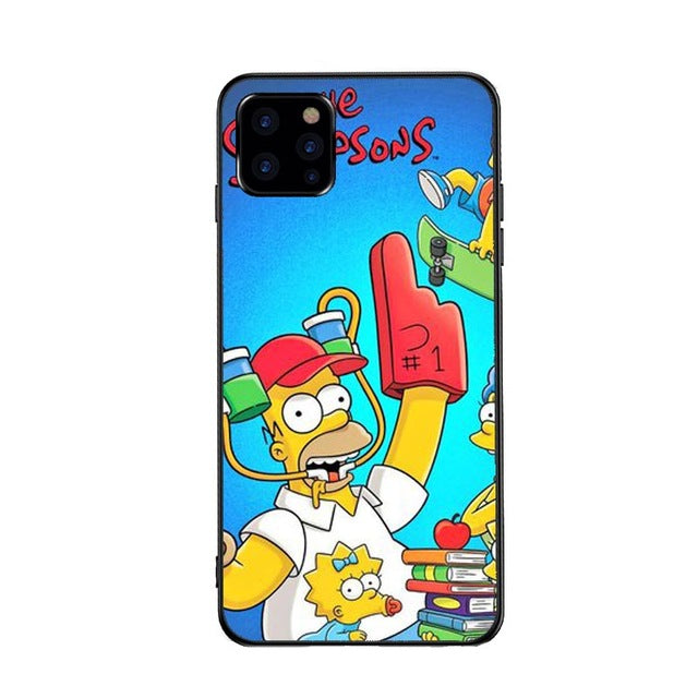 Funda iPhone Los Simpson 19