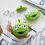 Fundas AirPods Pro Alien 3D Toy Story Silicona