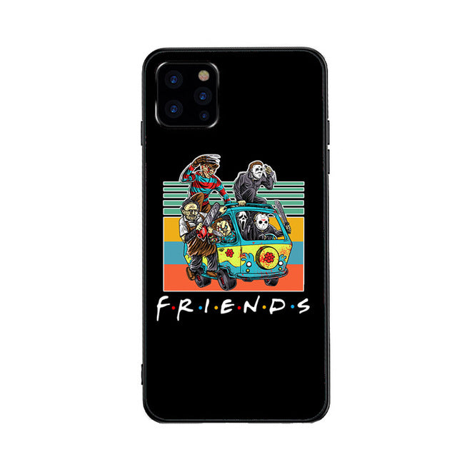 Funda iPhone Horror Friends 4