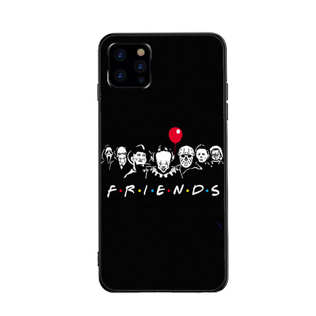 Funda iPhone Horror Friends 1
