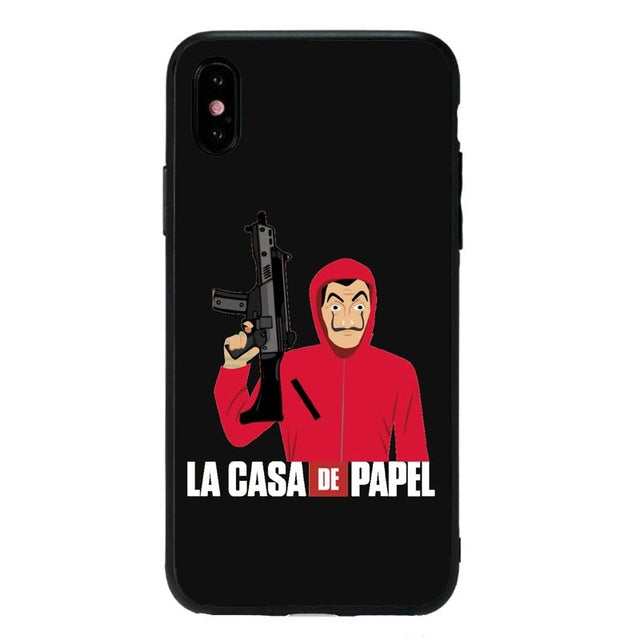 Funda iPhone Atraco La Casa de Papel