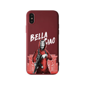 Funda iPhone La Casa de Papel 5