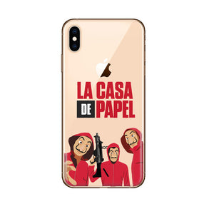 Funda iPhone La Casa de Papel 4